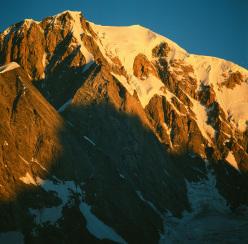 Il Monte Bianco visto da Renzino Cosson