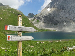 Lago Volaia, Passo Volaia, Alpi Carniche
