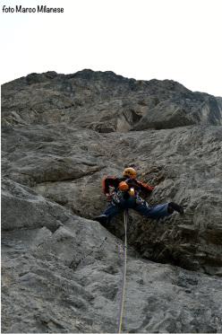 Con il vento in poppa, Torre Carla Maria, Passo Volaia, Alpi Carniche