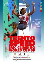 Trento Speed Climbing Worldcup, sabato 25 aprile