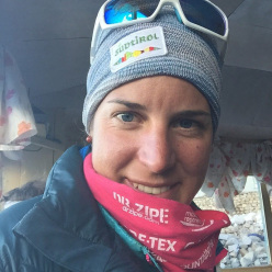 South Tyrolean alpinist Tamara Lunger