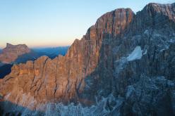 Civetta parete Nord-Ovest, Dolomiti