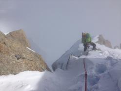Pablo Criado Toca e le vette dei Geants: Mont Blanc du Tacul con Andrea Plat
