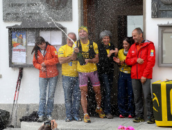 Pablo Criado Toca and the Geants summits: the arrival at Courmayeur