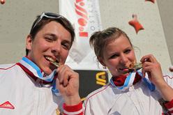 I vincitori Sergey Abdrakhmanov e Anna Stenkovaya.