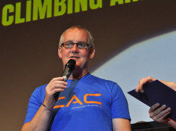 Arco Rock Legends 2015 - John Ellison, CAC Climbers against Cancer