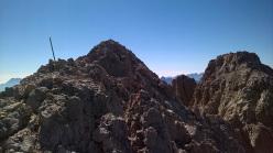 Sulla cima del Sassolungo (Dolomiti)
