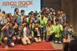 Arco Rock Legends 2015 - Jain Kim & fans