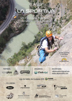 From 18 - 20 September 2015 the 6th Rally La Sportiva and 12th Climbing Terradets, the international rock climbing marathon at Terradets in Spain.