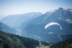 Aaron Durogati competing in Red Bull X-Alps 2015