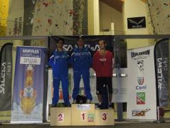 Campionato Italiano Speed 2015: 2. Alessandro Santoni 1. Leonardo Gontero 3. Gianluca Zodda