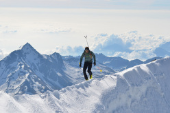 Ueli Steck and the 82 4000ers in the Alps: Allalinhorn 4027m
