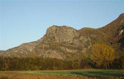 La Rocca Nera di Caprie, Val di Susa.