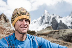 Stephan Siegrist at Base Camp
