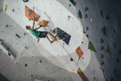 Coppa del Mondo Lead 2015 Wujiang, Cina: Jakob Schubert
