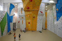The climbing wall King Rock Verona