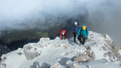 Jure's Challenge, during the ascent on 18/10/2015 in the Kamnik - Savinja Alps, Slovenia
