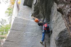 Maurizio Oviglia climbing Un pomeriggio da Leoni
