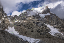 Chomochior (6278m): South ridge, D+, 1400m, Hayden Kennedy, Urban Novak, Manu Pellissier, Marko Prezelj, 27 - 29/09/2015