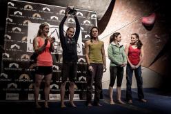 La Sportiva Legends Only 2015: Shauna Coxsey, Janja Garnbret, Melissa Le Neve, Juliane Wurm and Anna Stöhr.