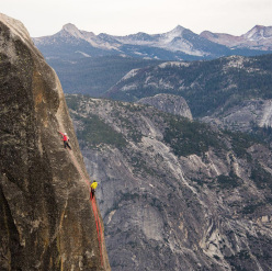 Lost Arrow Spire, Yosemite Valley, Sasha DiGiulian, Kevin Jorgeson
