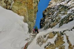 Cerro San Lorenzo, Exit (Domen Petrovčič & Domen Kastelic, ED 90° M, 1000m, 21/11/2015)