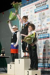 Natalija Gros, Akiyo Noghuchi e Olga Shalagina