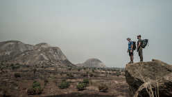 Alex Honnold and Stacy Bare in Angola
