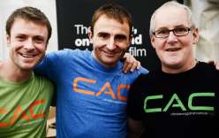 John Griffith, Ueli Steck and John Ellison