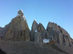Cerro Torre, Torre Egger, Punta Herron and Cerro Standhardt.