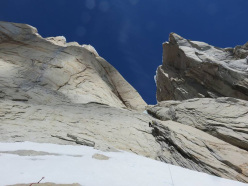 Psycho Vertical, Torre Egger, Patagonia