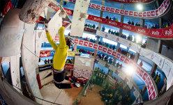UIAA Ice Climbing World Tour, The North Face Korea. Lead e Speed, Saas Fee.