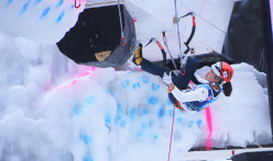 Ice Climbing World Cup 2016 Corvara: Han Na Rai Song