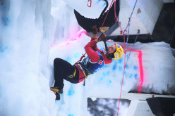 Ice Climbing World Cup 2016 Corvara: Angelika Rainer