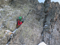During the first ascent of