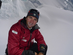 Ueli Steck ascends Gasherbrum II