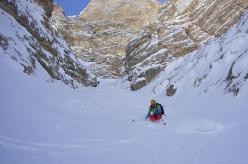 Sci ripido e scialpinismo sui 3000 delle Dolomiti