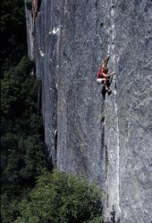 John Bachar soloing