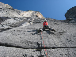Paolo Spreafico on the first pitch of Batman, Wenden, Switzerland