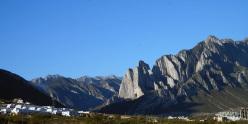 The Cumbres de Monterrey as seen from the city.