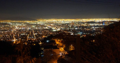 Monterrey at night.