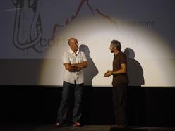 Lorenzo Scandroglio ed Andrea Gris durante Cortina inCroda 2009