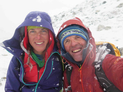 Nanga Parbat in winter: Tamara Lunger and Simone Moro