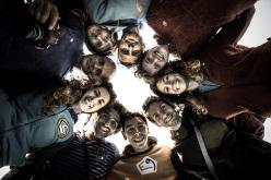E9 Just Rocking Team: Mauro Calibani, Daniela Feroleto, Andrea Gallo,  Valdo Chilese, David Morresi, Anna Borella, Claudia Ghisolfi, Stefano Ghisolfi, Michele Caminati