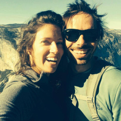 Jacqui Becker and Kevin Jorgeson