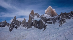 Fitz Roy, Patagonia, featured in the music video Future You by the band LNZNDRF