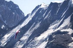 Christian Maurer sul Monte Bianco