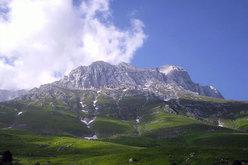Il versante nord del Corno Piccolo dai Prati di Tivo