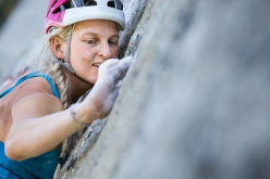 Emily Harrington climbing Golden Gate, El Capitan, Yosemite