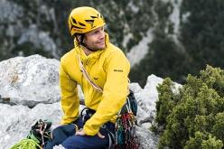 Swiss alpinist Roger Schäli